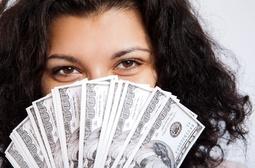 money-lady